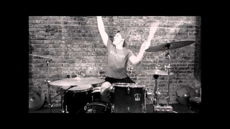Dope D.O.D. ft.Salmo – Bloodshake (stick tricks drum cover by Andrew)