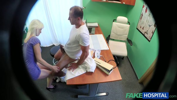 FakeHospital – E167- Horny Blonde MILF Wants Doctors Cum Inside Her