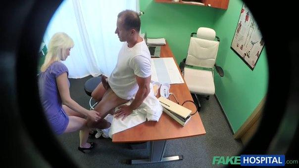 FakeHospital – E167- Horny Blonde MILF Wants Doctors Cum Inside Her
