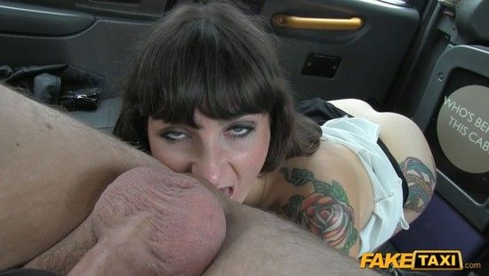 FakeTaxi E239 Adreena Brunette Does Anal Down To The Balls