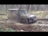 Extreme 4x4. Mercedes Gelandewagen. OFF ROAD 4х4