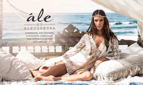 Ale by Alessandra: фото Алессандра Амбросио для рекламы собственного бренда