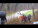 Crash RCZ-R Rallye de Franche Comté 2015