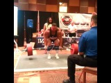 Джейк Джонс( Биг Бой),  становая тяга - raw - 367 кг (без ремня).