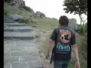 Tandil escalada a la Piedra Movediza caida en 1912