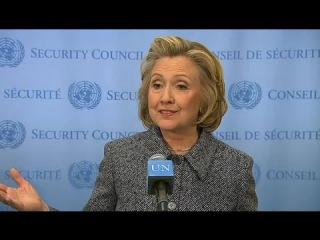 Клинтон заявила о претензиях на место Обамы