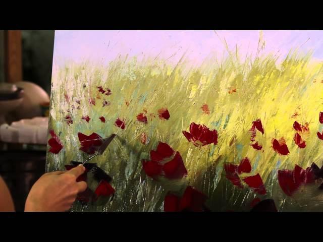 МАСТЕР КЛАСС ПО ЖИВОПИСИ - ЛИЛИИ СТЕПАНОВОЙ. Урок масляной живописи. Oil painting lesson