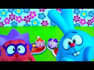 Смешарики игрушки - Сборник лучших серий. Развивающие мультфильмы для детей Smeshariki &  Kikoriki