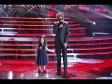 Один в Один! Виталий Гогунский и Милана - Григорий Лепс и Ани Лорак (Зеркала)