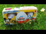 Микки Маус, 3 шоколадных яйца Киндер / 3 KINDER SUPRRISE EGGS - MICKEY MOUSE