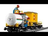 Ремонт товарного поезда в городе Лего