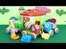 Детские развивающие машинки Чико и Зоодомик. Мультики про грузовички
