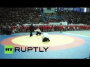 Стивен Сигал провел мастер-класс по айкидо на открытии Всероссийского турнира по самбо в Саратове