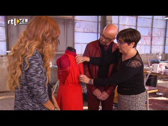 Welk jurkje kiest Sharon? - DOOR HET OOG VAN DE NAALD