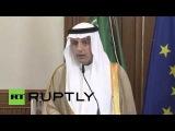 Германия: Саудовская ПМ Аль-Jubeir хвалит аспекты иранской ядерной сделки в Берлине.