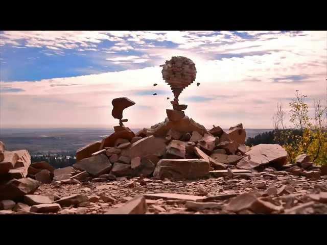 Невероятная техника балансировки камней Майкла Грэба.