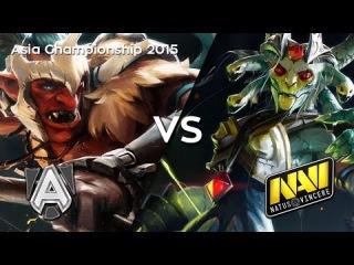 Na'Vi vs Alliance — Asia Championship 2015