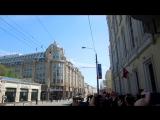 Техника посла парада в честь 70-летия Великой Победы. 9 мая 2015 года. Москва.
