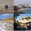 Велопоход зимой туда, где лето №1-Израиль
