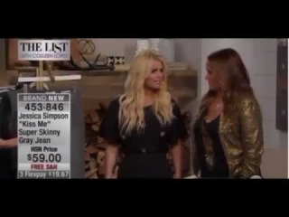 JESSICA SIMPSON -- Dazed and Confused on Home Shopping Network N