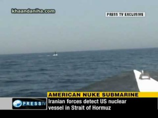 Iran intercept US nuclear submarine in Persian Gulf