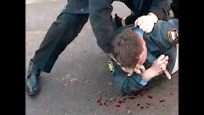 Полицейский открыл огонь в метро по хулиганам полиция