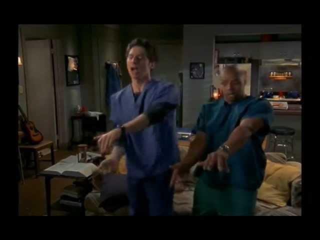 Клиника - танцуют все! Scrubs - Everybody Dance!