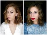 Легкие локоны/кудри на короткие волосы за 5 минут! +2 образа
