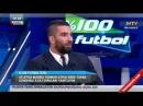 Arda Turan ve Rıdvan Dilmen Yüzde Yüz Futbol komik anlar
