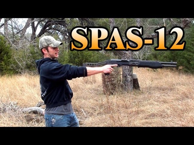 SPAS-12 Shotgun Point Blank