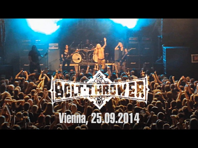 BOLT THROWER - Live in Vienna / Arena Wien / 25.09.2014