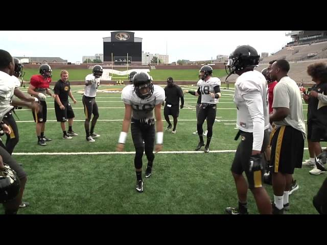 Mizzou Football Fall Camp Dances
