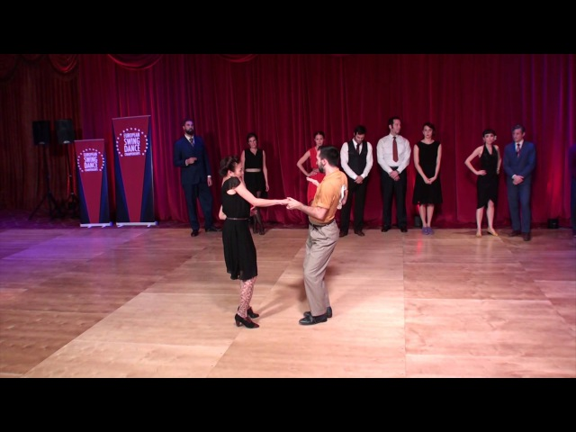 ESDC 2015 - Slow Swing Blues Couples- Finals - First Spotlights