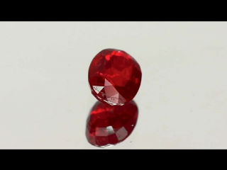 IGI-Certified Unheated Deep Pigeon Blood Red Ruby