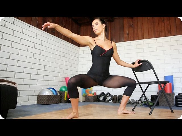 The Ultimate BALLET WORKOUT for Lean Legs Tight Booty