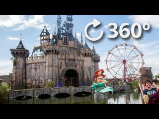 360º Banksy Dismaland Tour 4K / Депрессивный Диснейленд Бэнкси