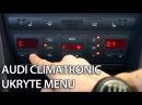 Jak uruchomić ukryte menu Climatornic Audi A6 C5 tryb serwisowy diagnostyka