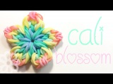 Cali Blossom  Hook Only  Rainbow Loom Charm