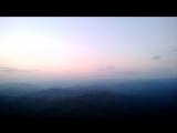 Вид побережья и гор с 30-ти метровой башни на горе Ахун
