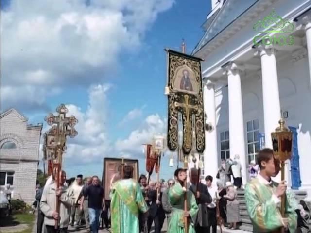 Икона святого Сергия Радонежского в г. Чистополь
