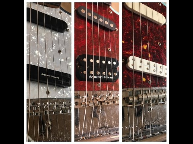 Seymour Duncan Humbucker Comparison for Fender Mustangs | Nirvana Tone and others