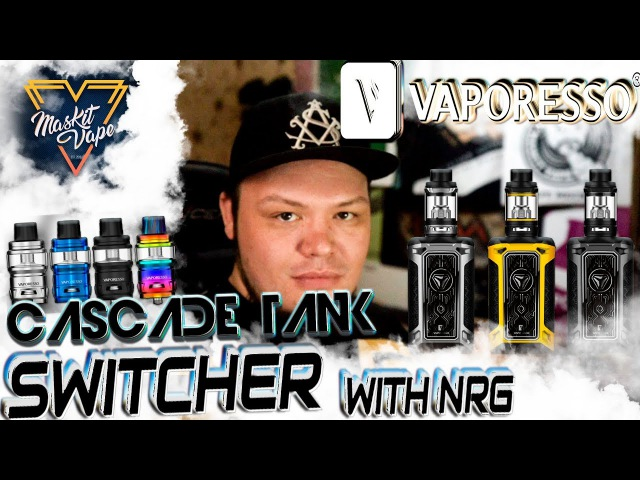 Switcher with NRG Cascade Tank by Vaporesso