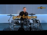 Roland TD-50KV V-Drums Pro Electronic Drum Kit Preset Demo with Craig Blundell