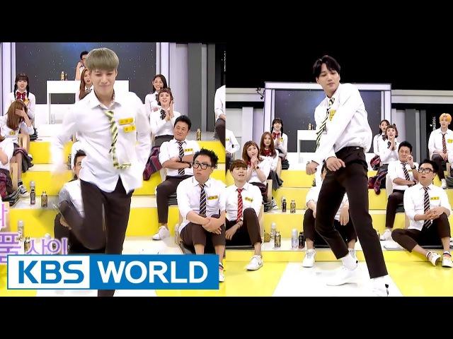 EXO KAI vs. SHINee Taemin, amazing dance battle! [Happy Together 2017.08.31]