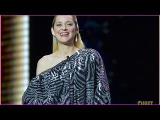 Marion Cotillard Has Legs for Days in Shimmering Dress at Cesar Awards