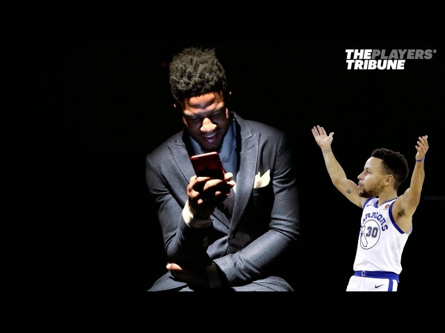 Jordan Bell Breaks Down Notable Texts with his Teammates