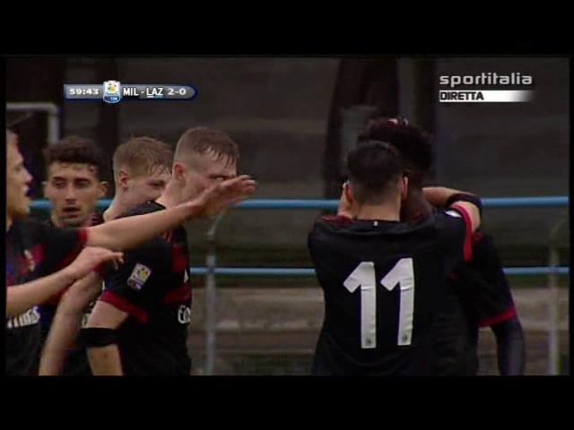 Campionato PRIMAVERA 1: Milan - Lazio 2-1