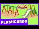 Learn Park and Playground Vocabulary Talking Flashcards