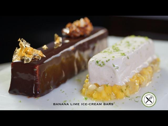 Banana Lime Ice-Cream Bars – Bruno Albouze