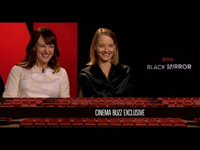 Rosemarie DeWitt and Jodie Foster Interview for Black Mirror